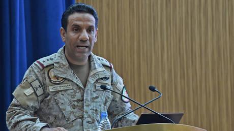 التحالف العربي يعلن عن اعتراض وتدمير طائرة مسيرة مفخخة أطلقها الحوثيون باتجاه جنوب السعودية