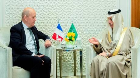 وزيرا خارجية السعودية وفرنسا يبحثان القضايا الإقليمية وسبل التعاون