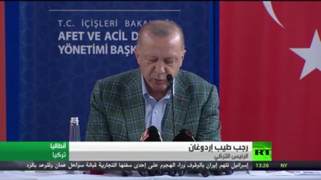 بوتين: نواصل مساعدة تركيا بإخماد الحرائق