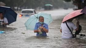 الصين تشهد أمطارا لم تعرف مثيلا لها منذ 1000 عام