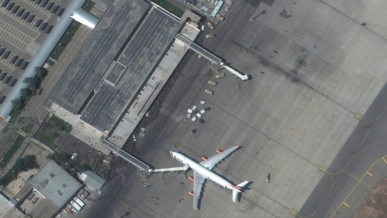"""""""واشنطن بوست"""": العثور على بقايا بشرية بعجلة طائرة عسكرية قادمة من كابل"""