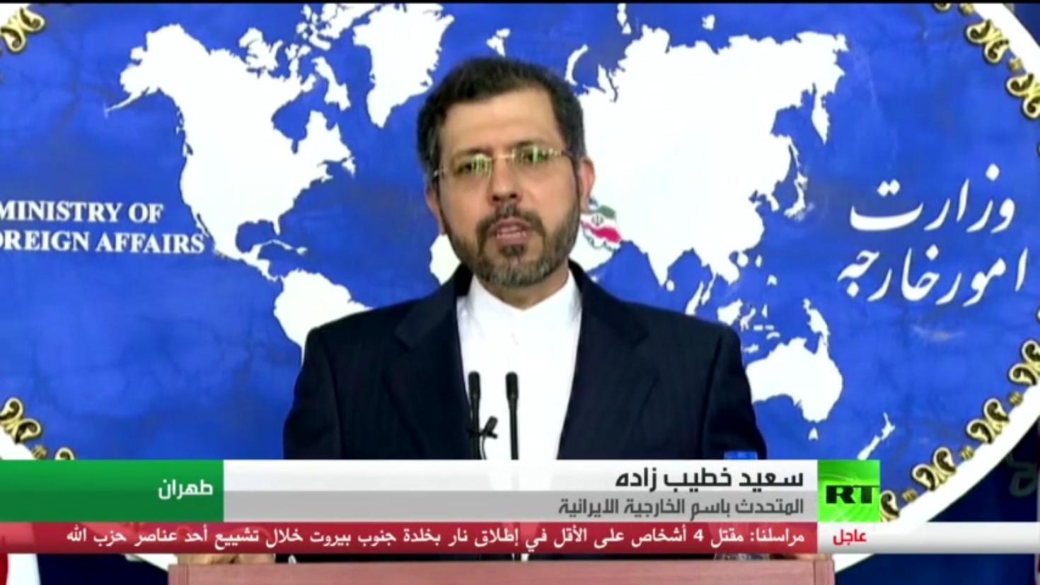 طهران تنفي ضلوعها بالهجوم على سفينة إسرائيل