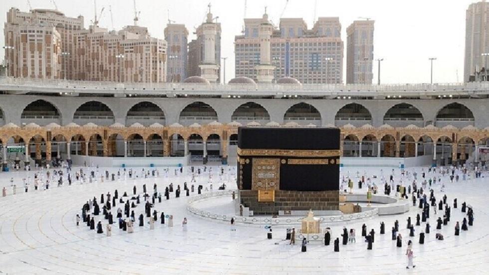 بيت الله الحرام في مكة المكرمة بالسعودية - أرشيف