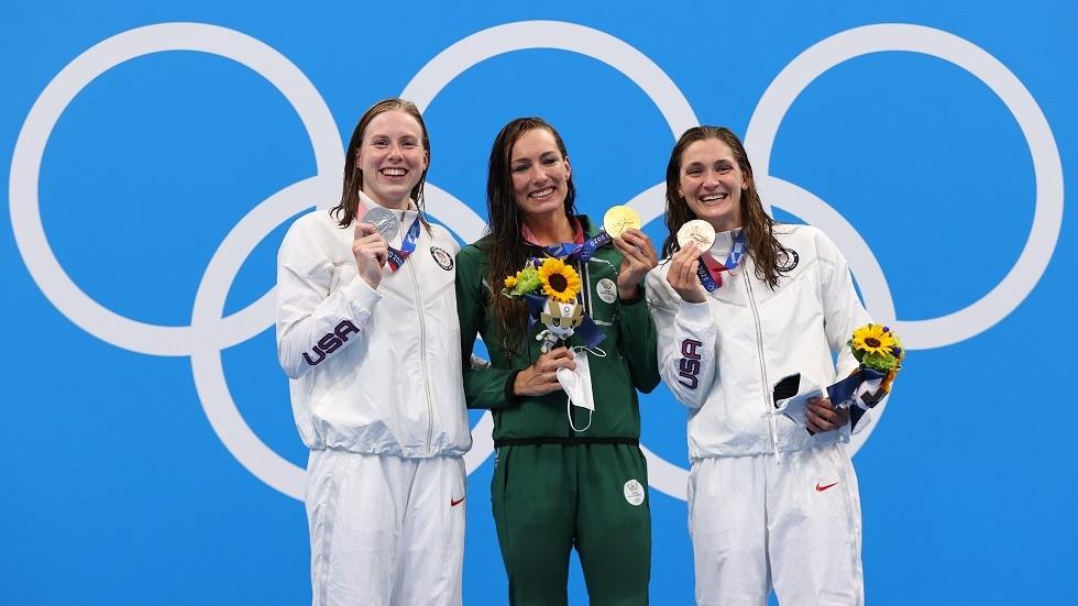 السباحة الأمريكية كينغ: لا ينبغي للروس المشاركة في أولمبياد طوكيو