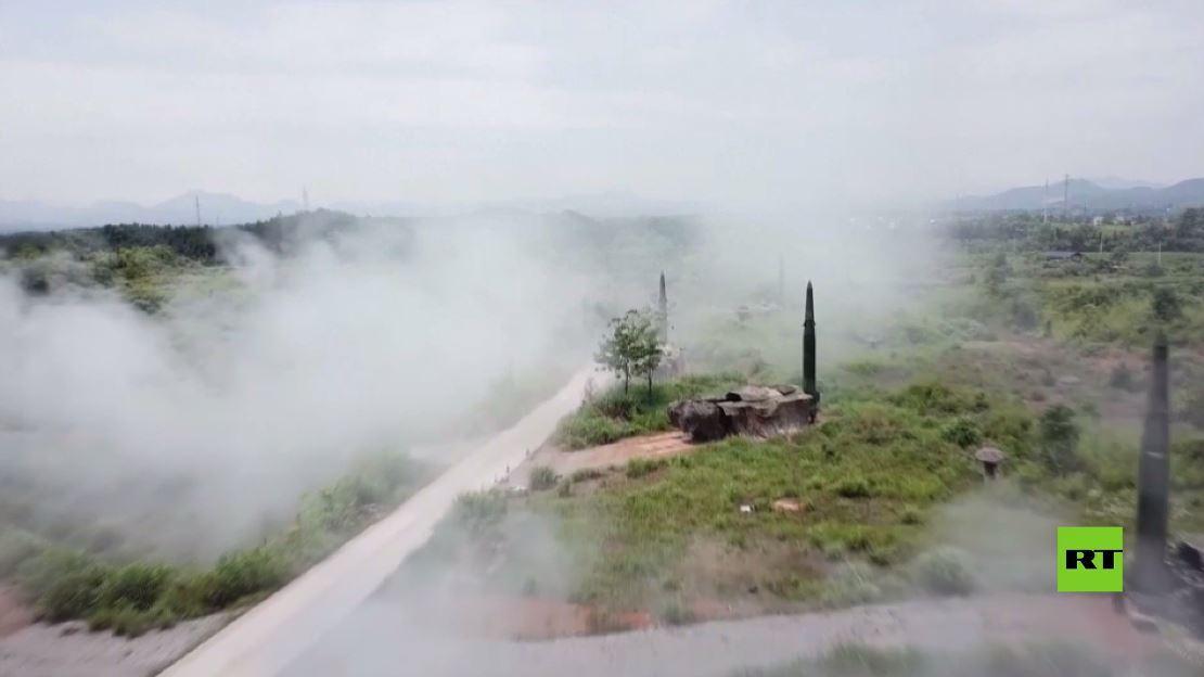 بالفيديو.. تدريبات صاروخية للجيش الصيني