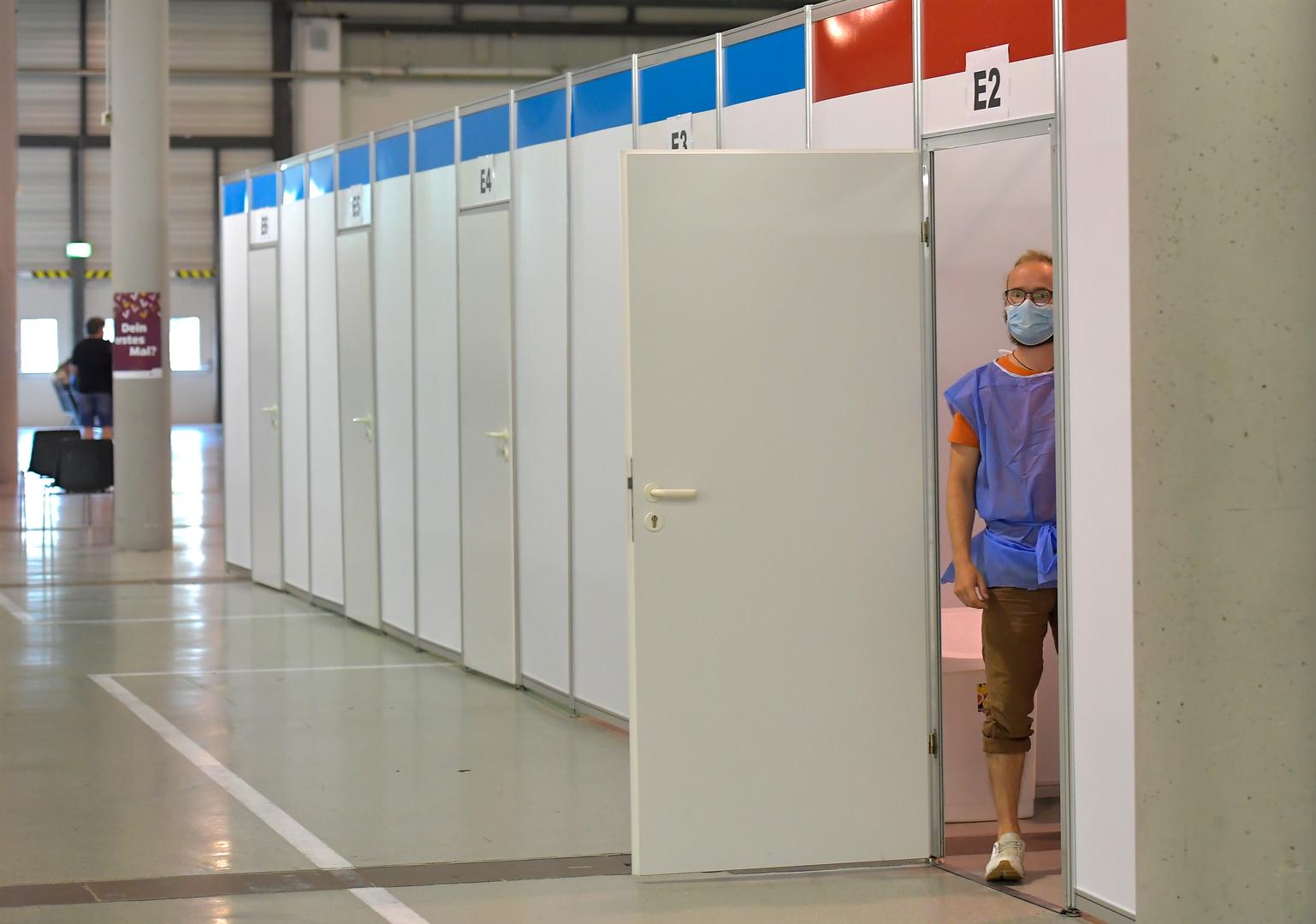 مركز للتطعيم ضد فيروس كورونا في ألمانيا