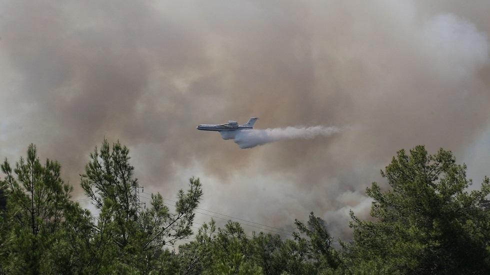 الاتحاد الأوروبي يرسل 3 طائرات إطفاء إلى تركيا