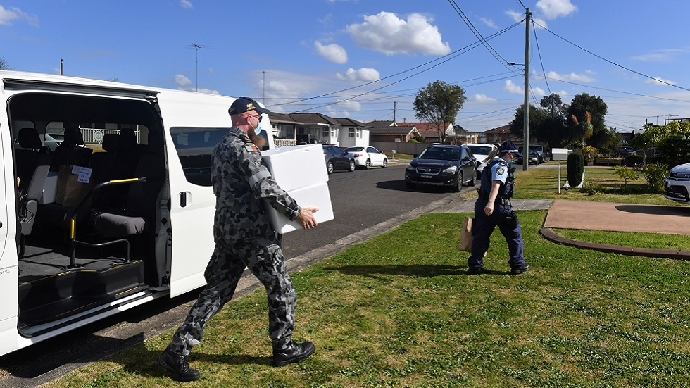 نشر الجيش في سيدني الأسترالية للإشراف على تطبيق الإغلاق