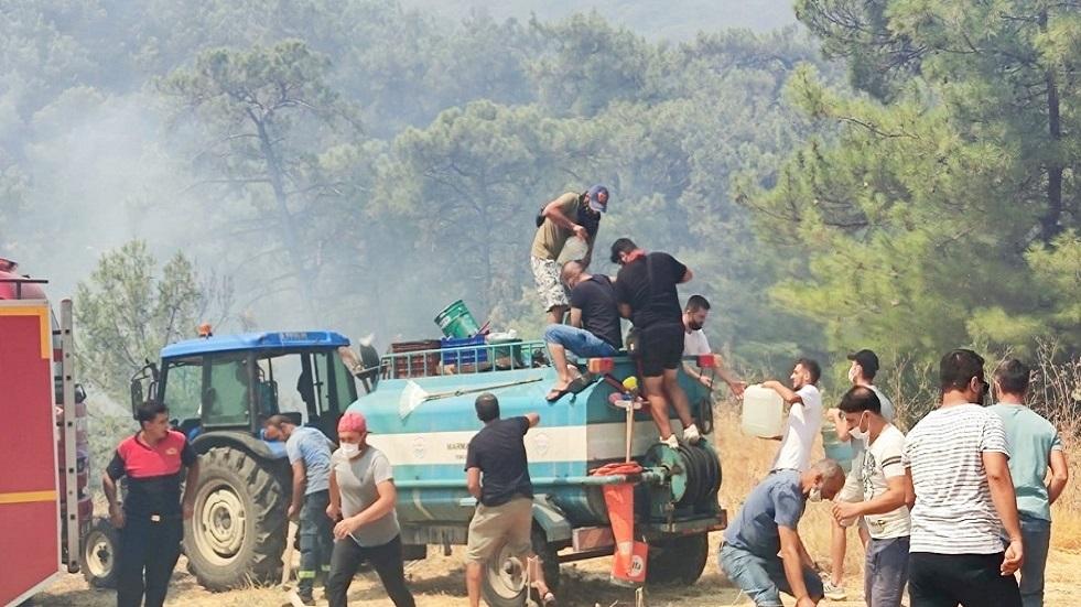جدل تركي حول تورط حزب العمال الكردستاني بحرائق الغابات
