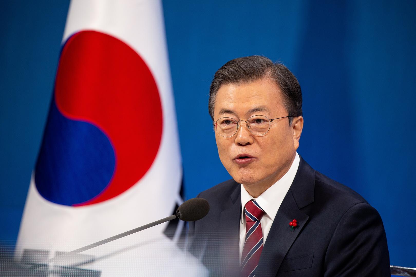 الرئيس الكوري الجنوبي مون جيه إن