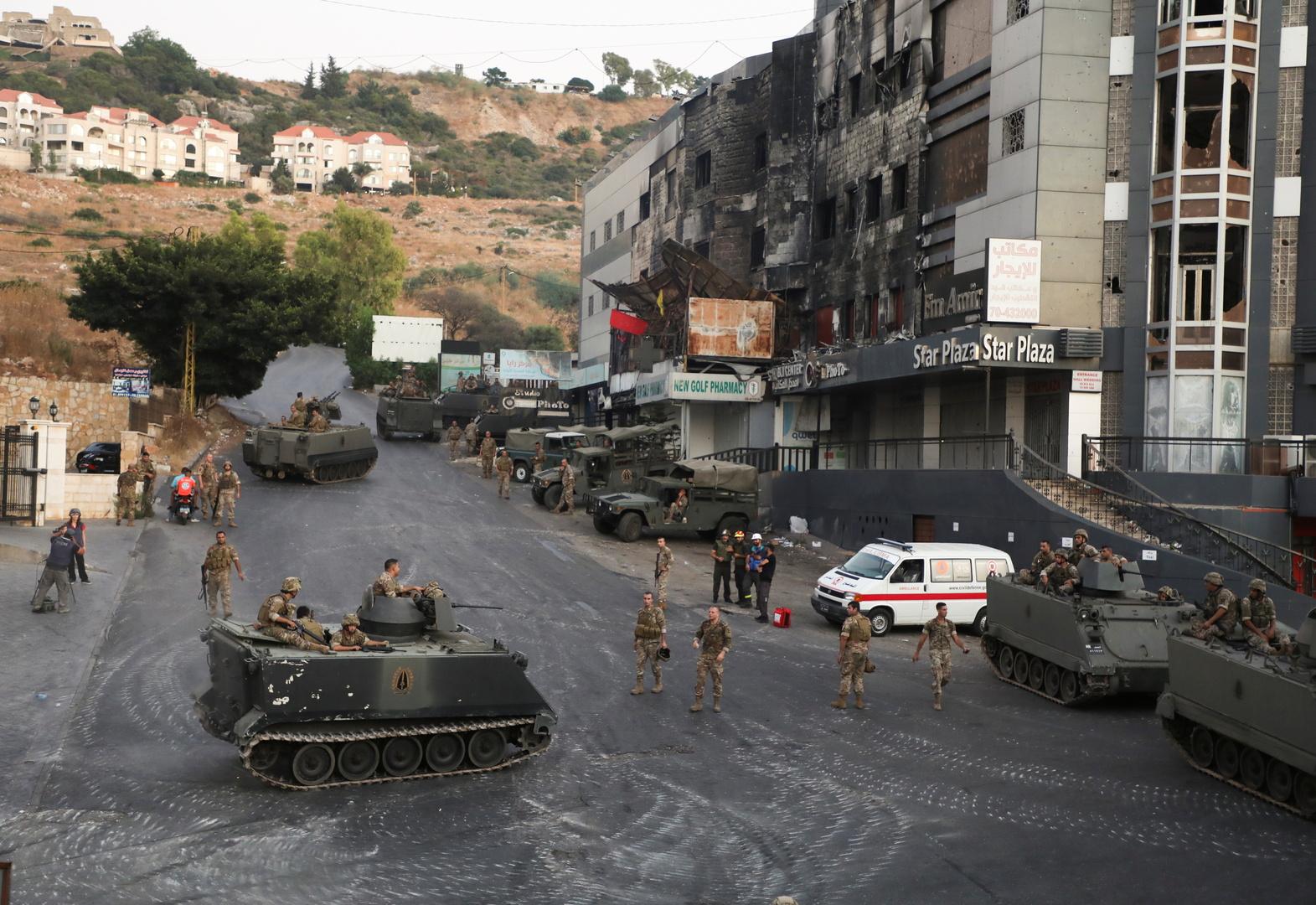مراسلنا: معلومات عن تمكن الجيش اللبناني من توقيف المتهم الرئيسي باشتباكات خلدة