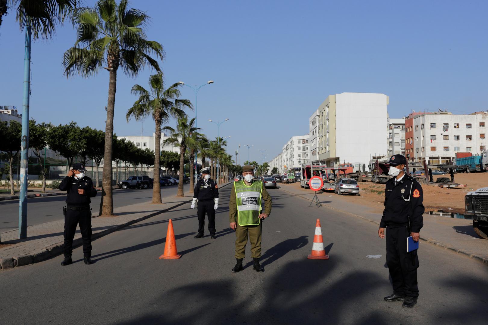 المغرب يفرض حظر التجول من الـ9 مساء حتى الـ5 صباحا بدءا من الغد لكبح تفشي كورونا