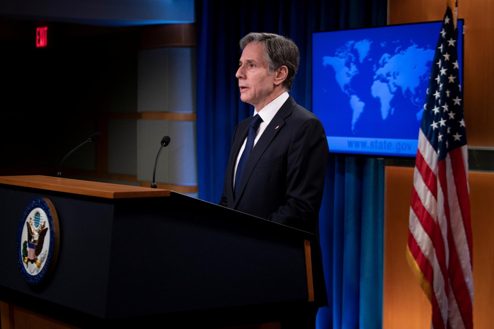 بلينكن: الرد على إيران بشأن الهجوم على ناقلة النفط