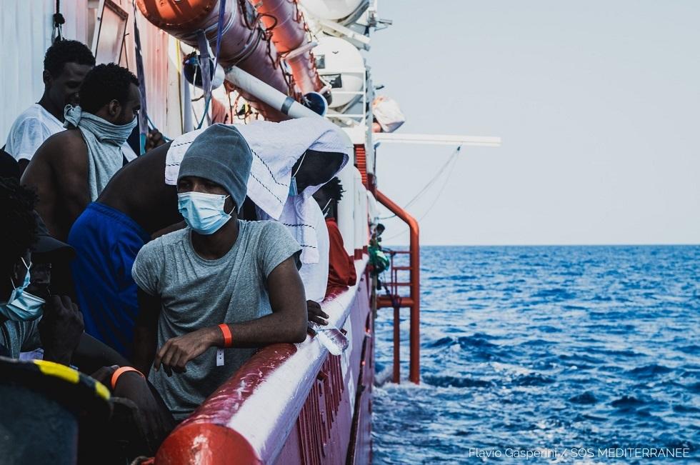 سفينة إنقاذ المهاجرين