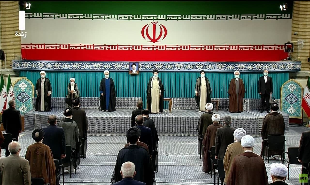 مراسم تنصيب رئيسي رئيسا لإيران