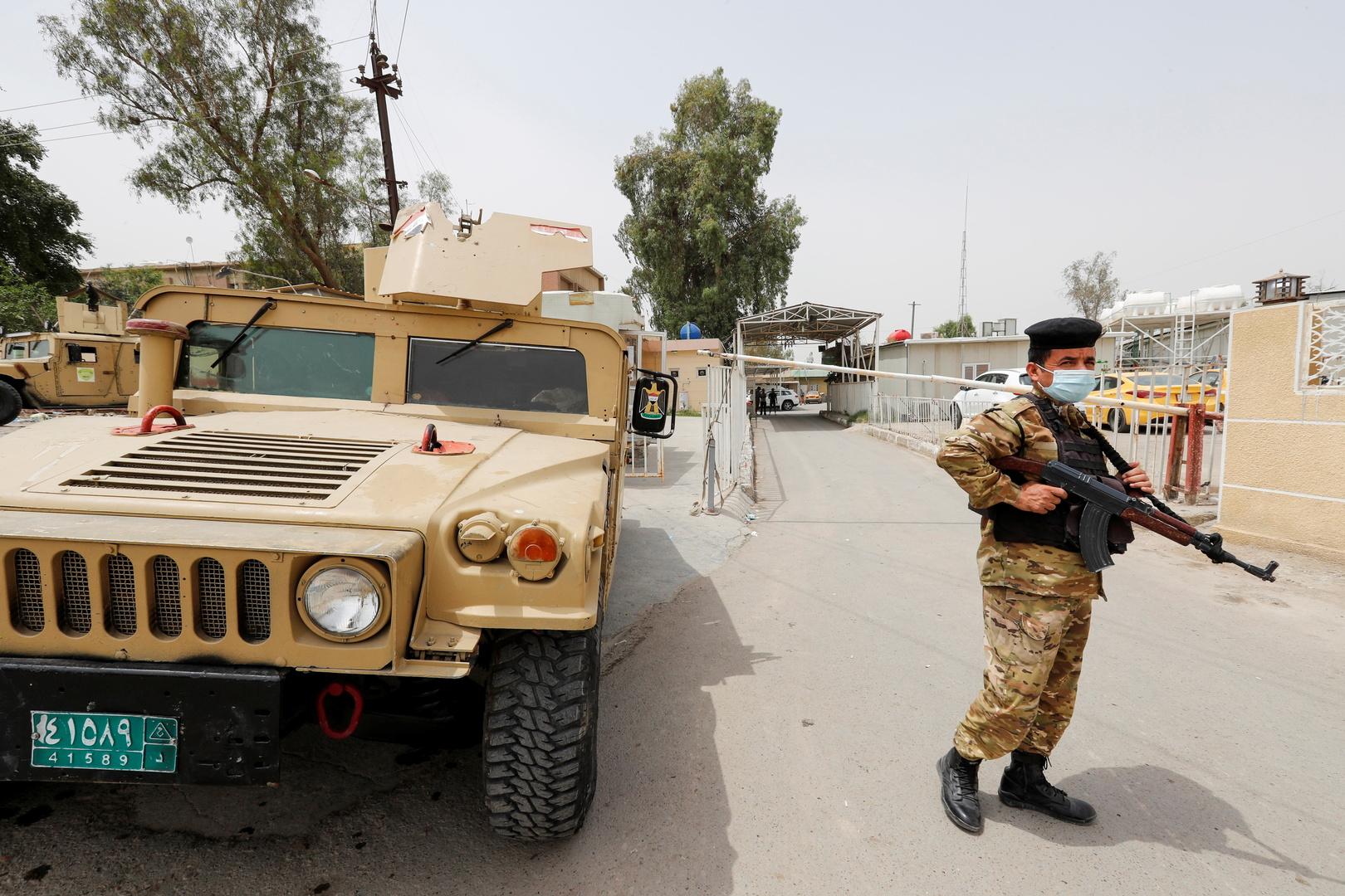 عنصر من الأمن العراقي