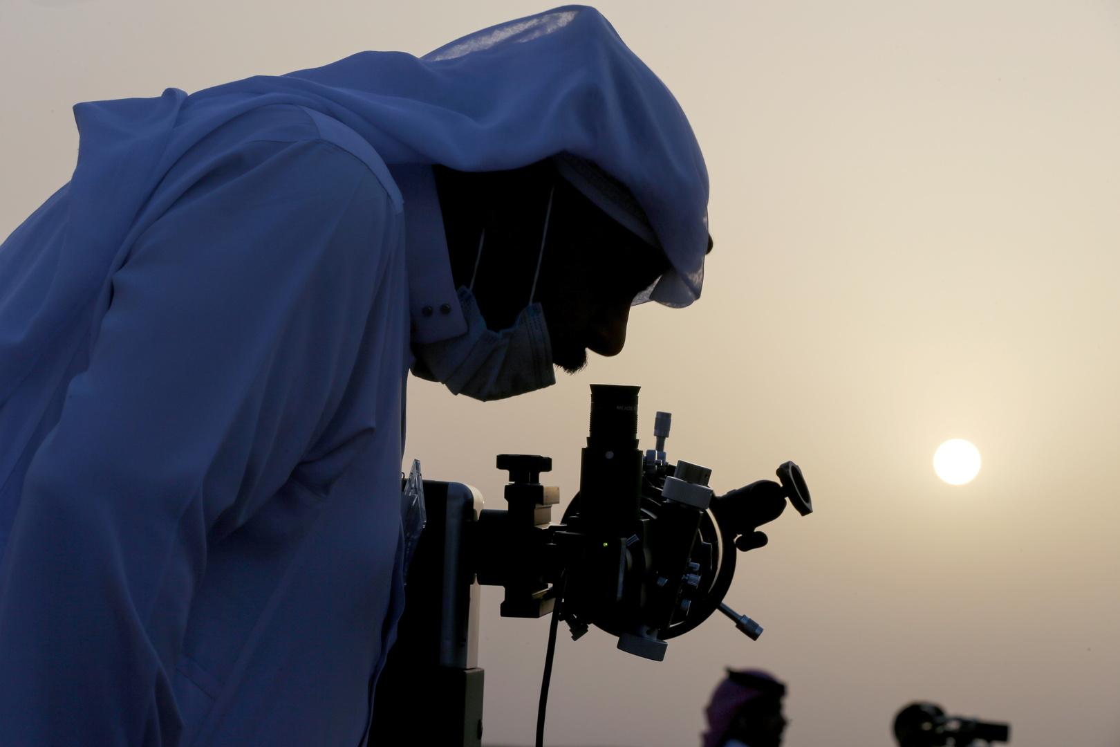 رصد القمر في السعودية