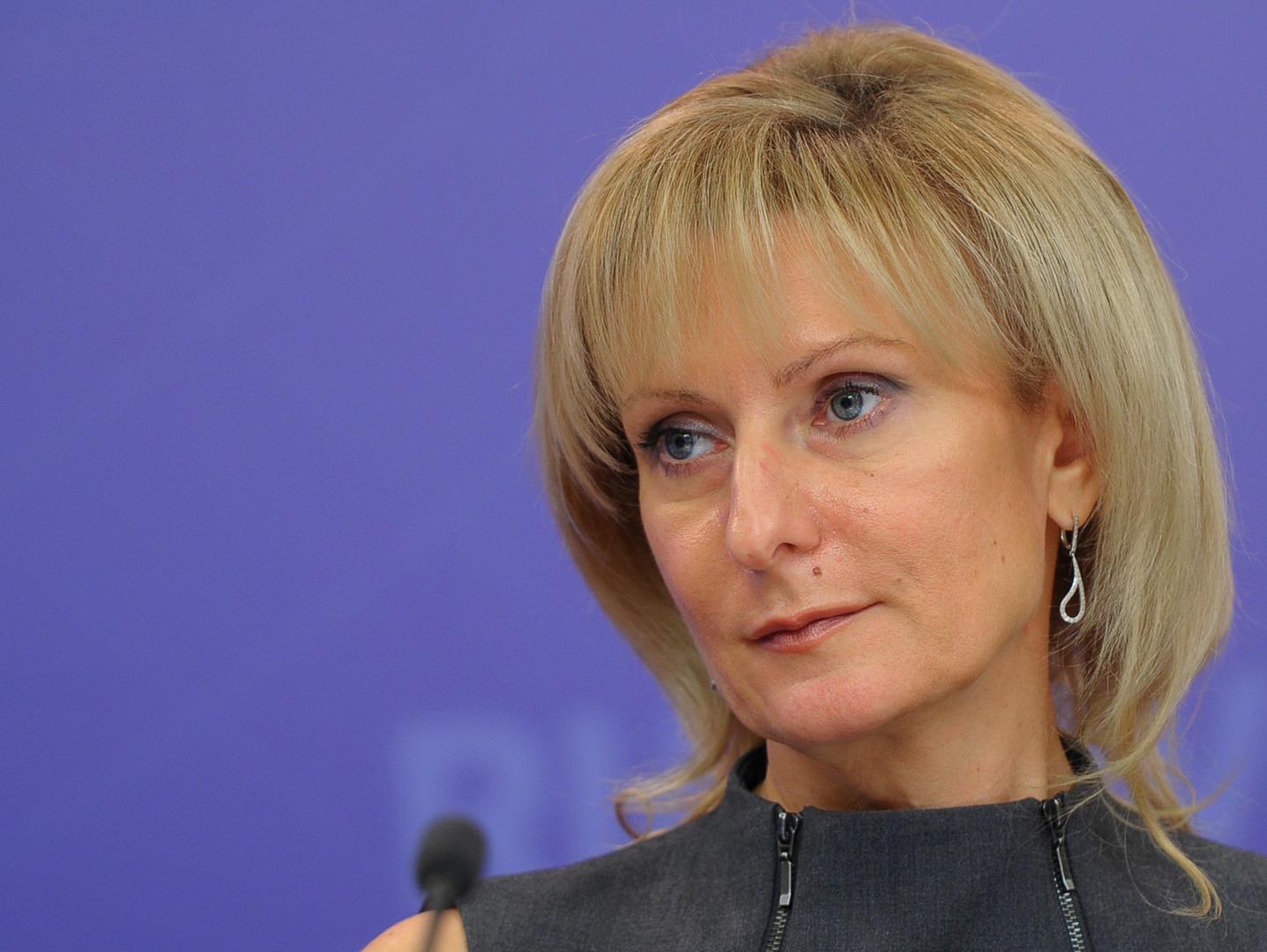 رئيسة اللجنة الاجتماعية بمجلس الاتحاد الروسي إينا سفياتينكو