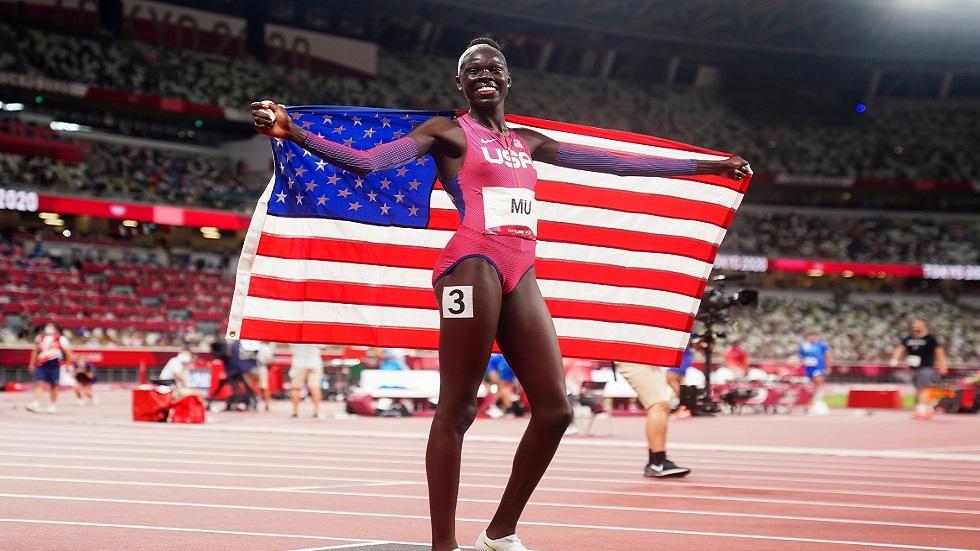 أولمبياد طوكيو.. الأمريكية أثينغ مو تحرز ذهبية سباق 800 متر