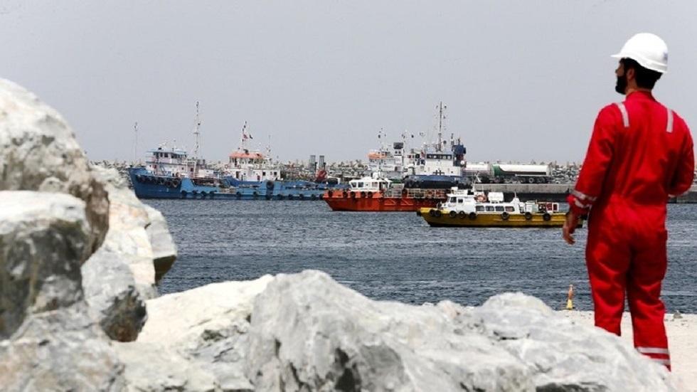 ميناء الفجيرة الإماراتي - أرشيف