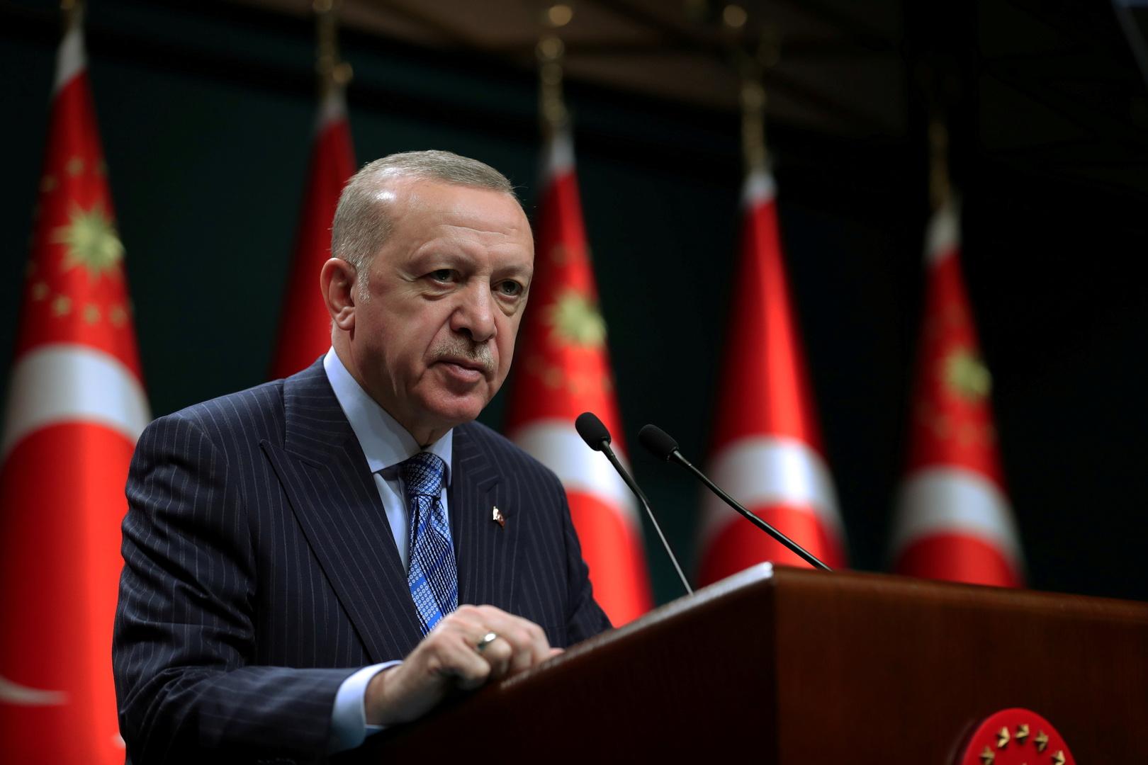 بالأسماء.. أردوغان يشكر قادة الدول التي تساعد بلاده في مكافحة حرائق الغابات