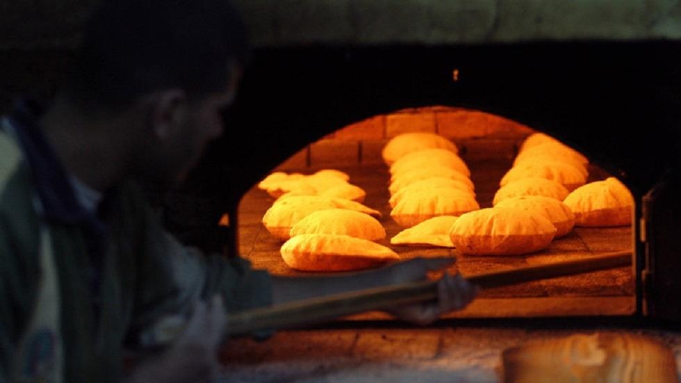 مخبز في مصر - أرشيف