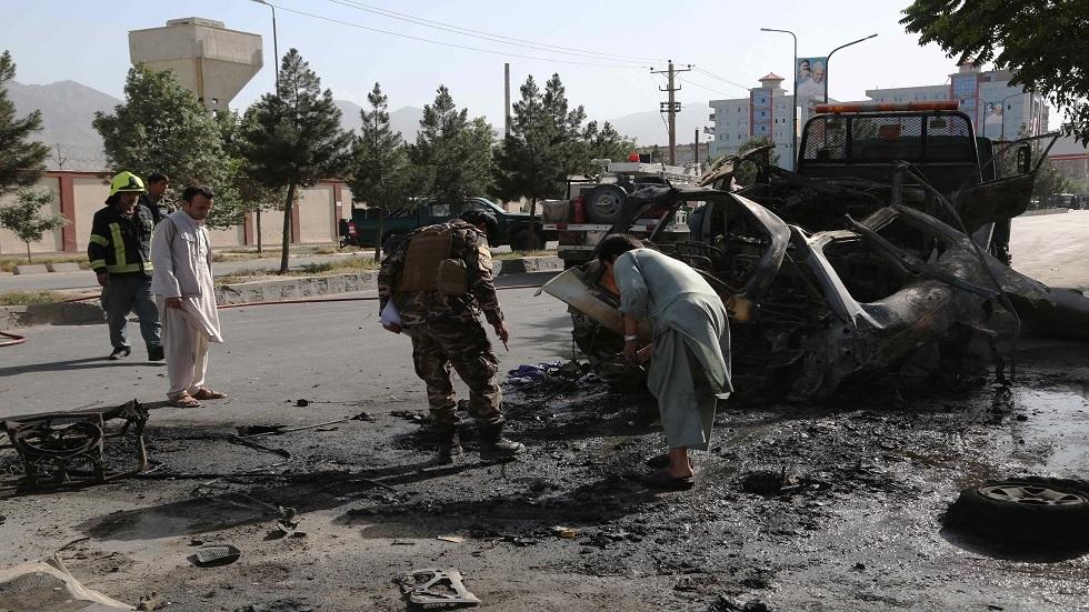 انفجار سابق في العاصمة الأفغانية كابل - أرشيف
