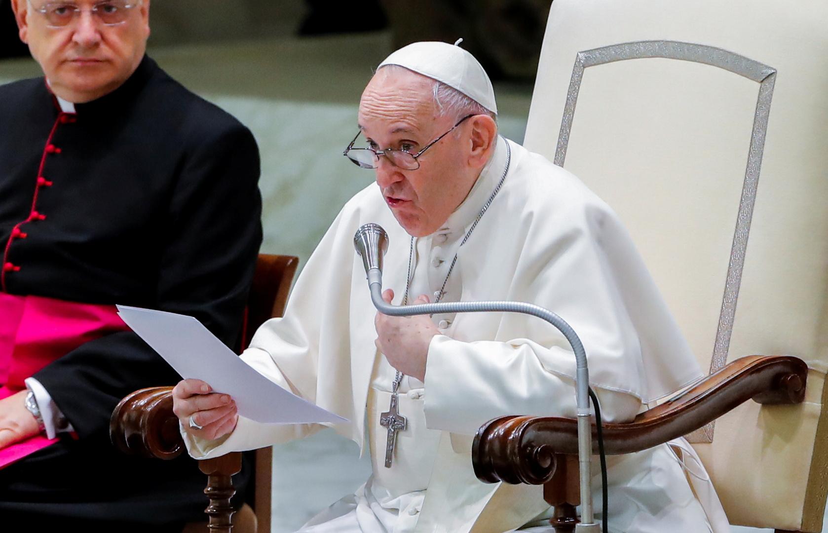 خطاب عام للبابا فرانسيس، الفاتيكان، 4 أغسطس 2021
