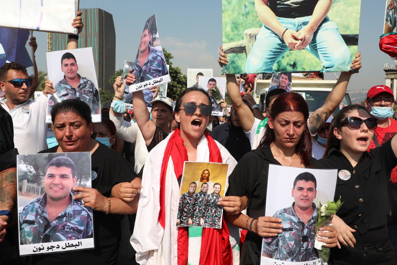 مسيرات حاشدة تجاه مرفأ بيروت تخللها إشكال محدود في الجميزة