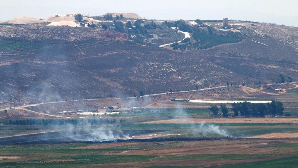 الجيش الإسرائيلي ينشر فيديو لقصفه أراضي لبنان