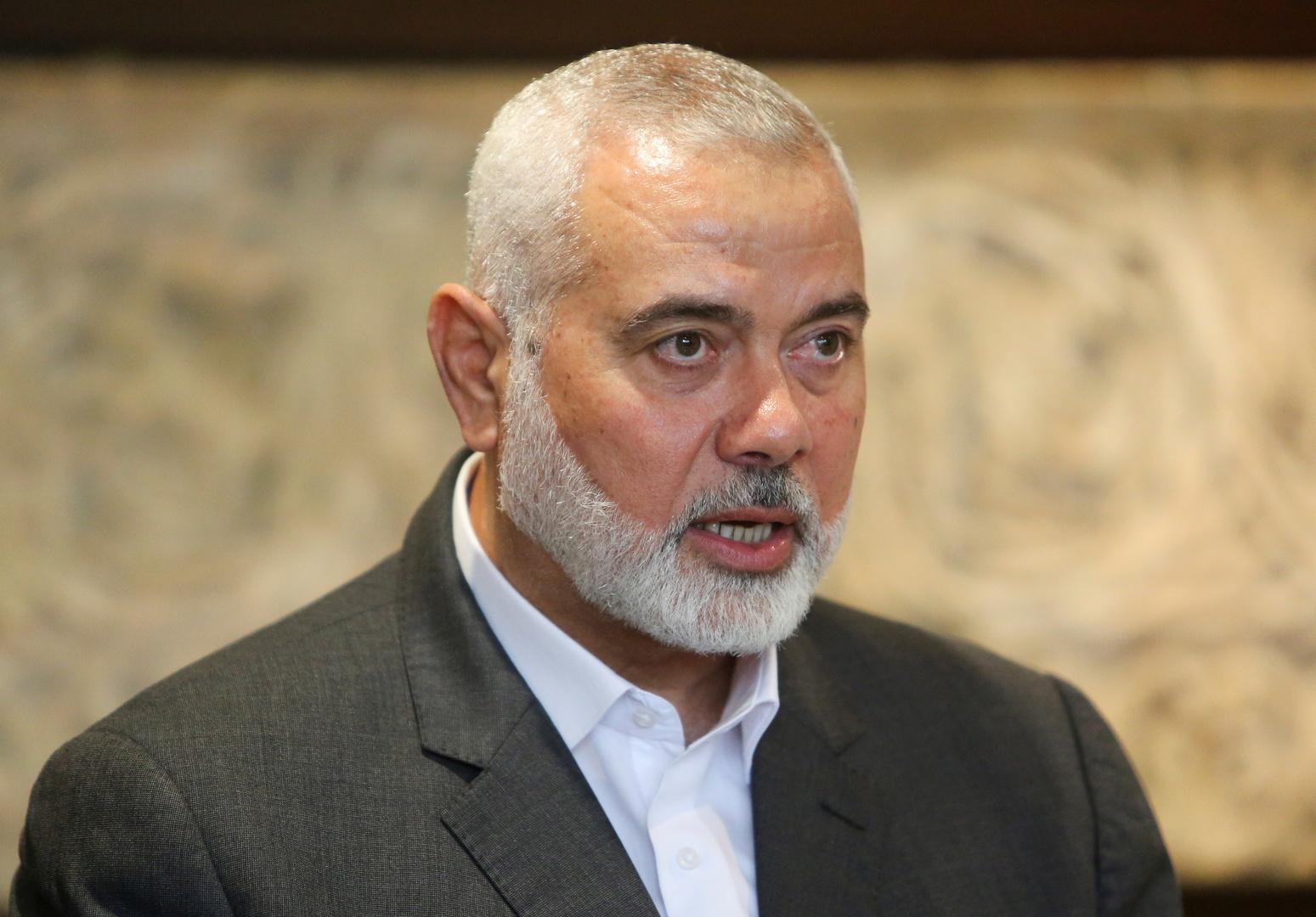 هنية يرحب بتحديد السعودية موعد النطق بالحكم على معتقلين فلسطينيين
