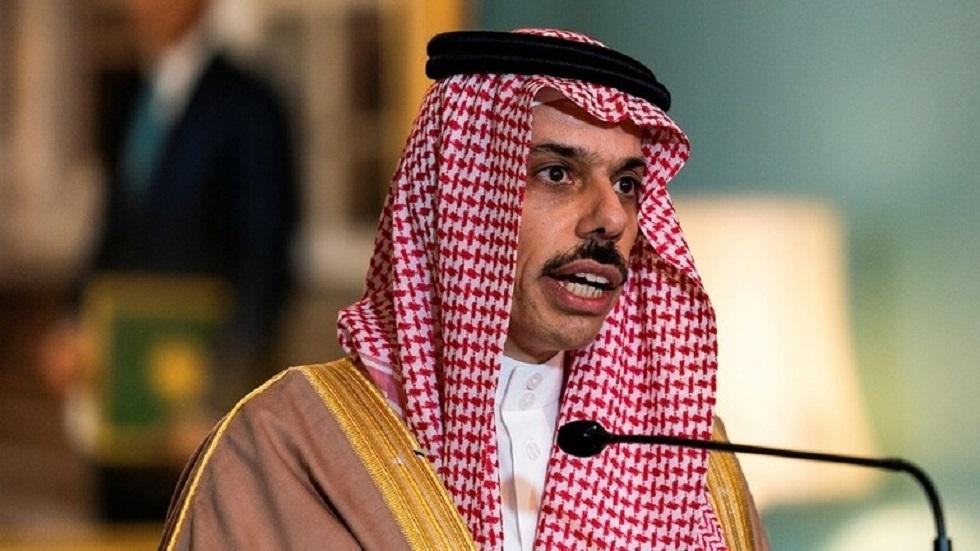 وزير الخارجية السعودي فيصل بن فرحان آل سعود