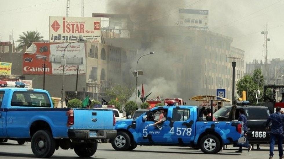 تفجير في بغداد - أرشيف