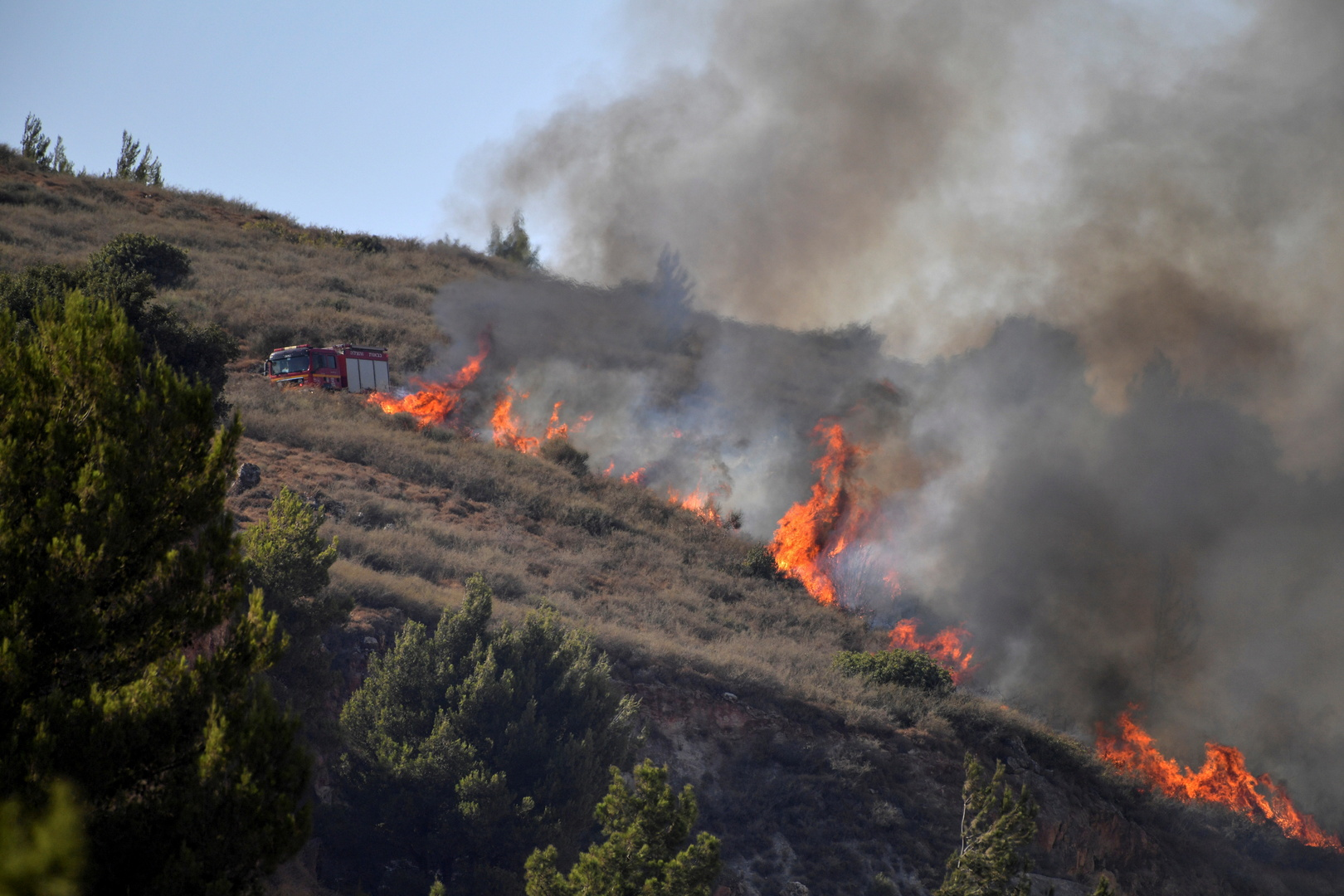 واشنطن تندد بالهجمات الصاروخية التي شنتها جماعات مسلحة تتمركز في لبنان على إسرائيل