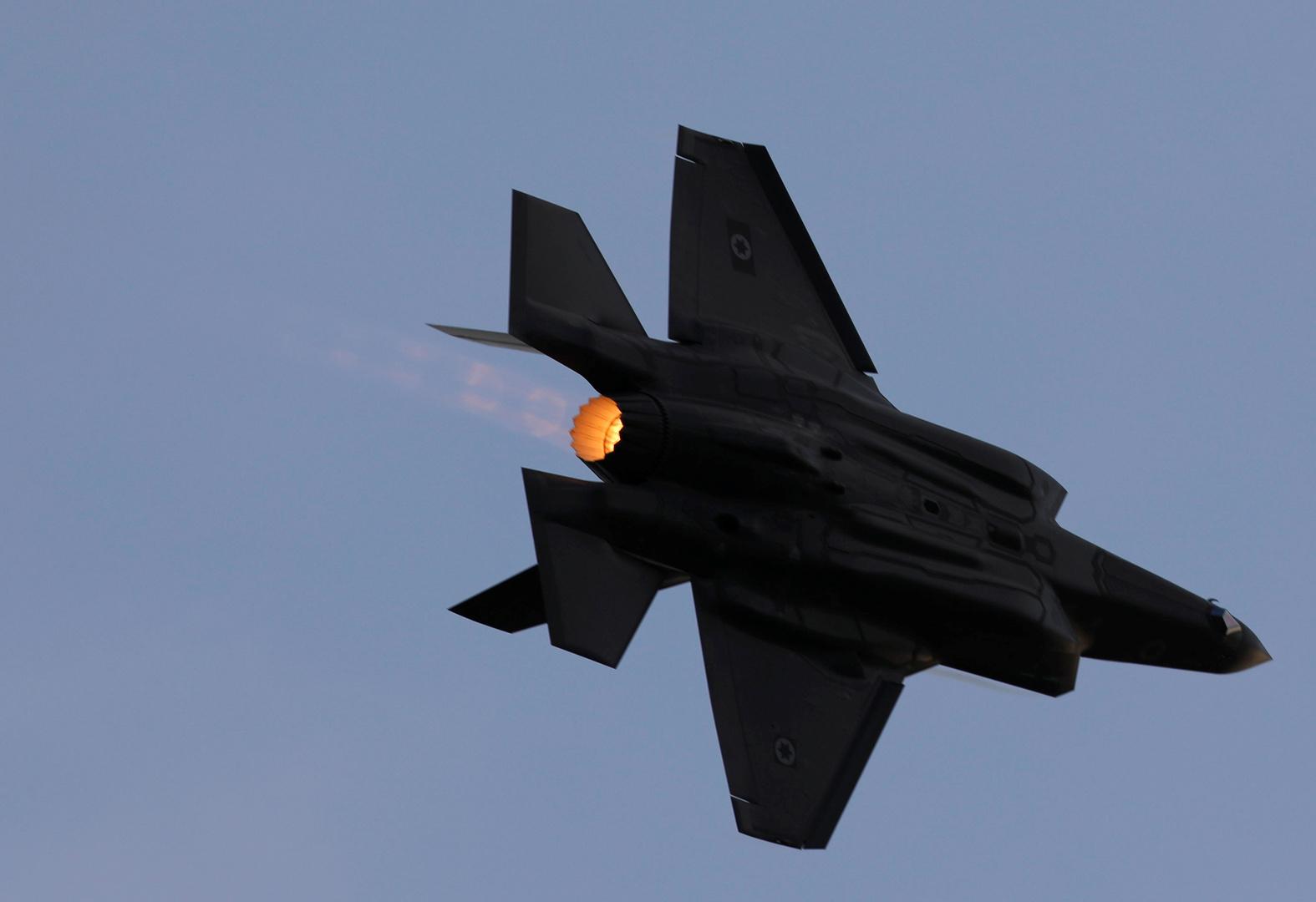 طائرة حربية إسرائيلية