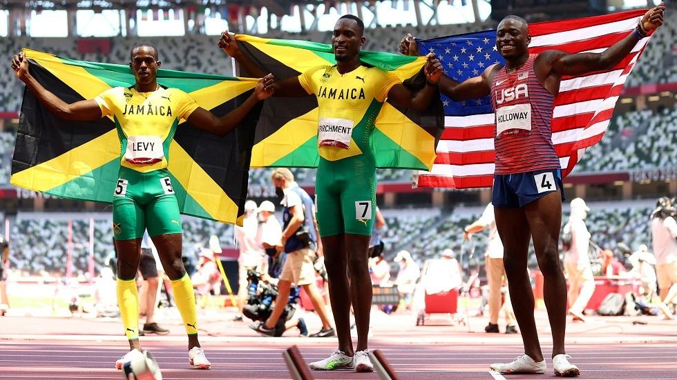 أولمبياد طوكيو.. الجامايكي بارتشمنت يفاجئ هولواي ويحرز ذهبية 110 أمتار