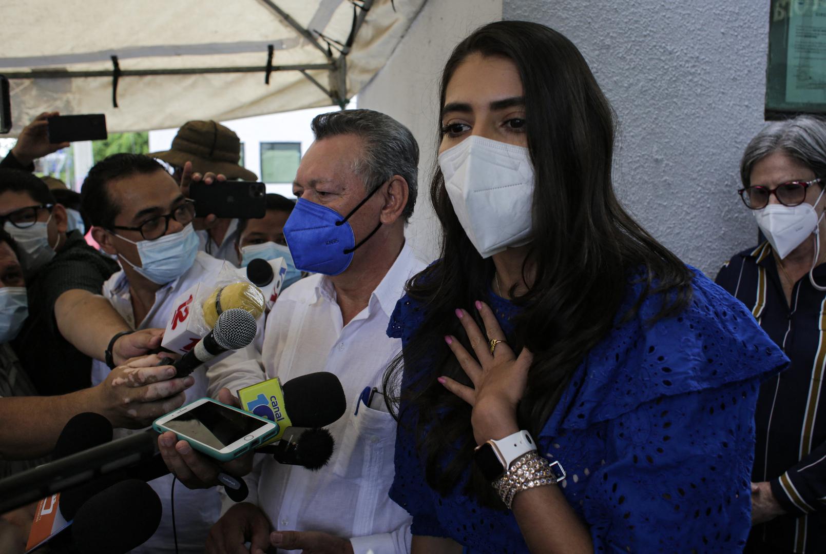 ملكة جمال سابقة في نيكاراغوا قيد الاعتقال بتهمة