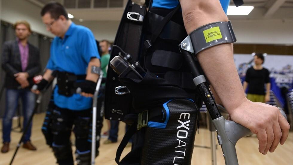 أجهزة طبية روسية ستباع في الولايات المتحدة لمساعدة الأشخاصذوي الإعاقة على المشي