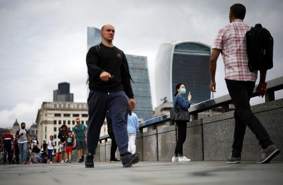 لندن في زمن الجائحة