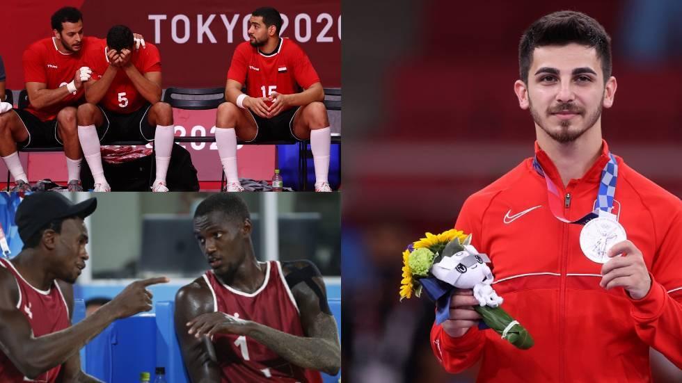 حصيلة ميداليات العرب بعد منافسات اليوم بأولمبياد 2020 .. فرحة أردنية