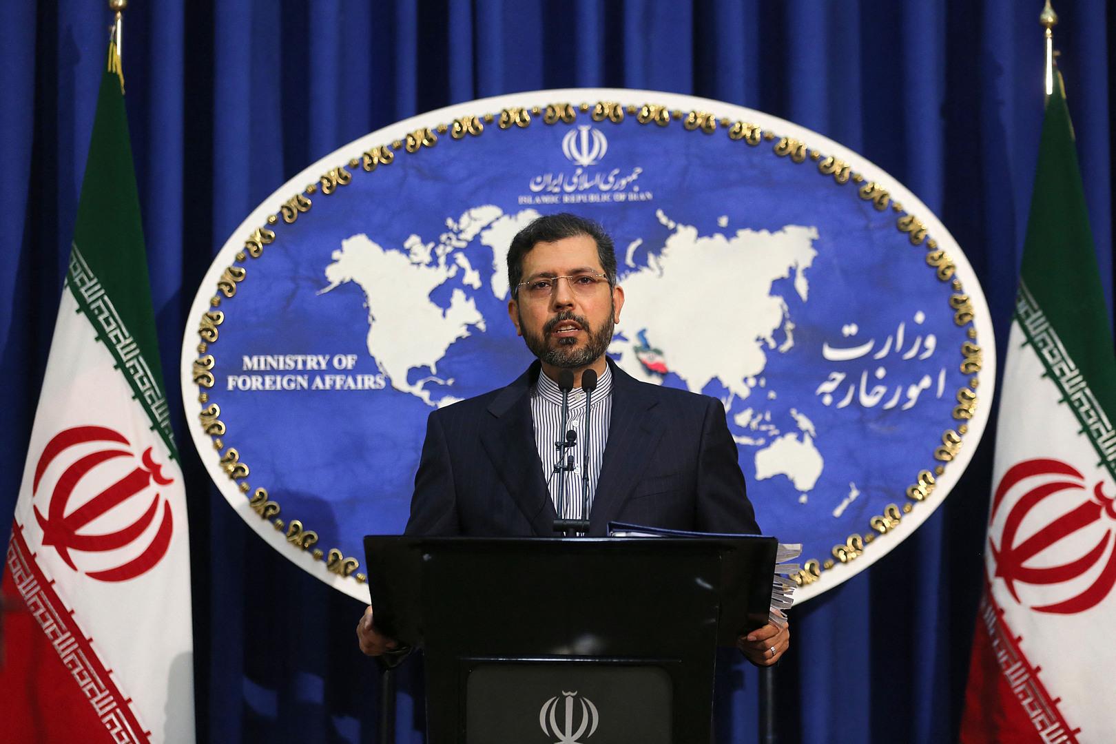 المتحدث باسم وزارة الخارجية الايرانية سعيد خطيب زاده