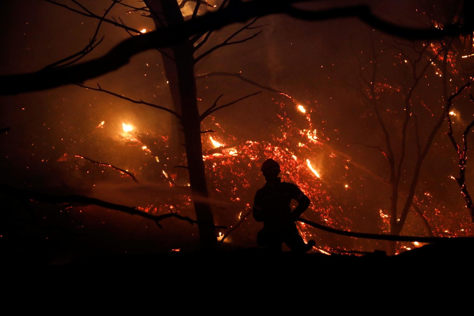 اليونان.. حرائق غابات جديدة شمالي أثينا