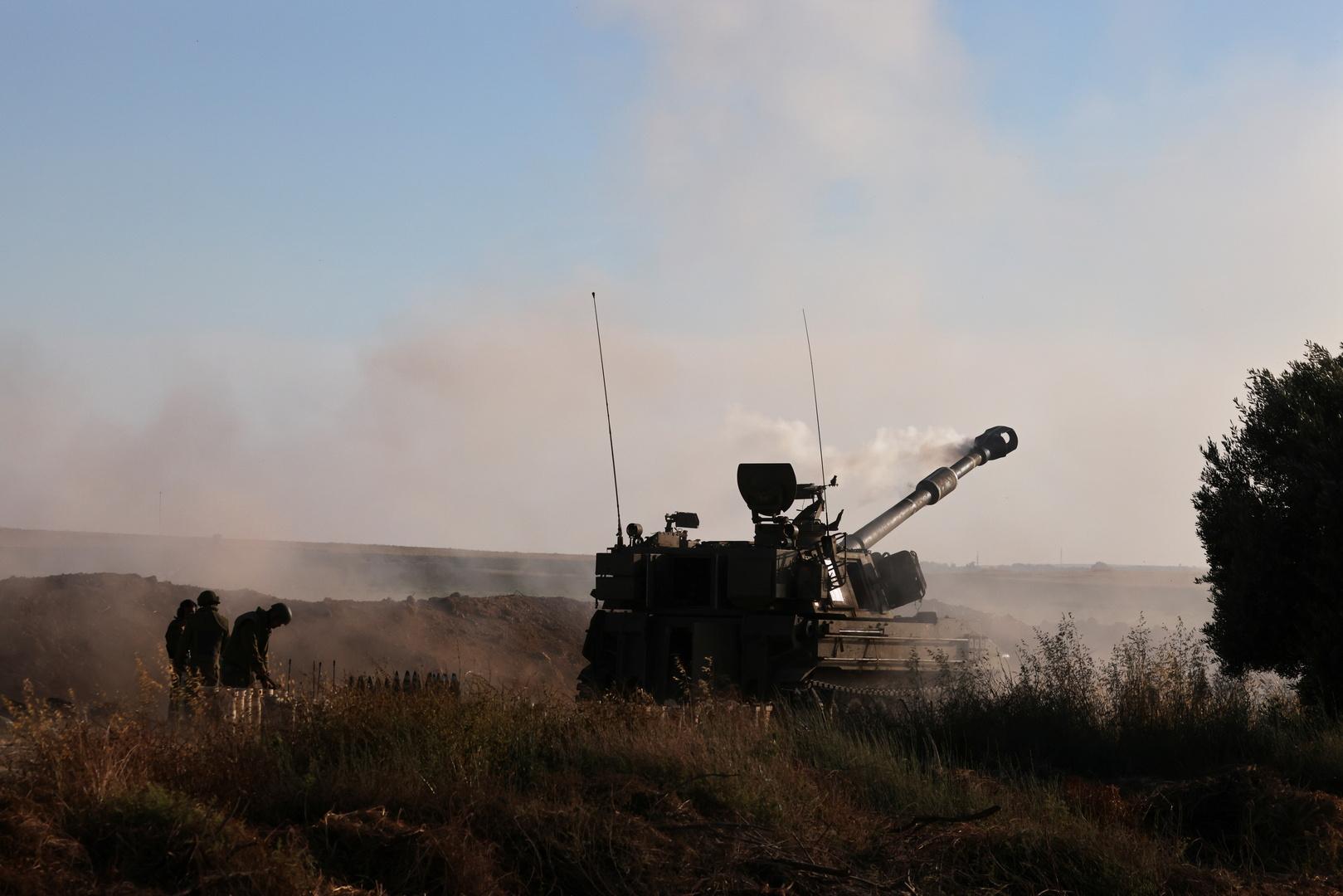 الجيش الإسرائيلي يقصف مناطق في جنوب لبنان بعد هجوم صاروخي جديد