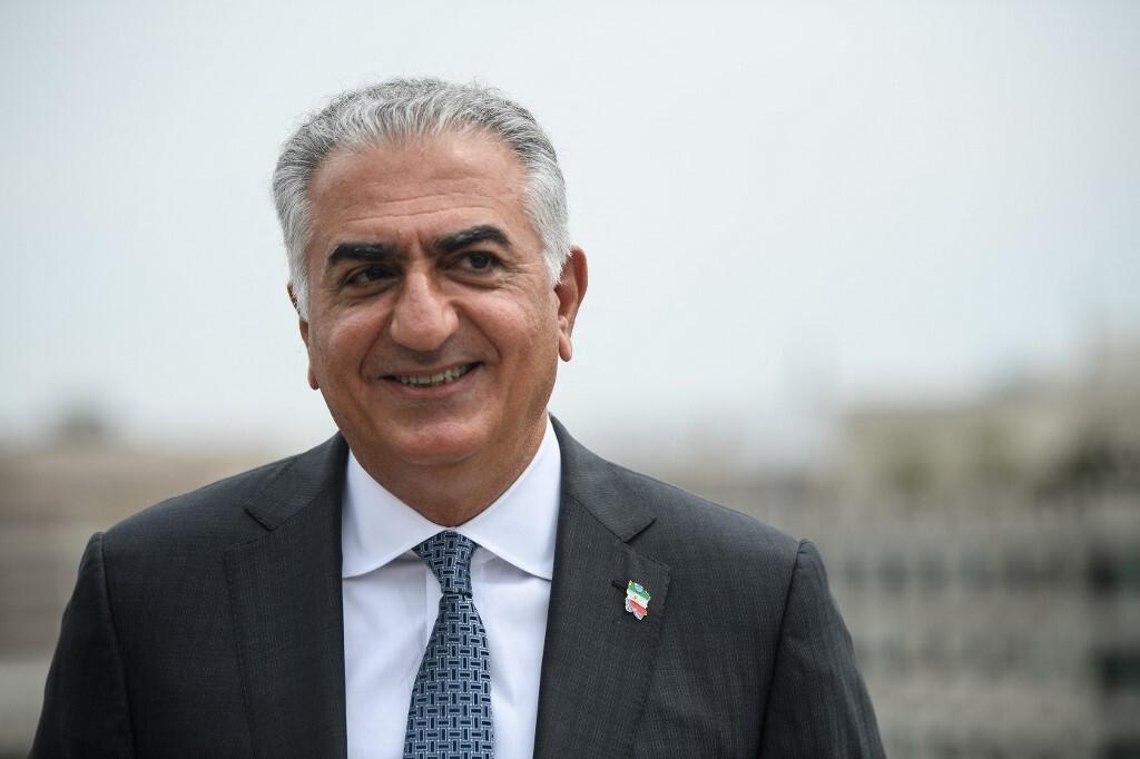 رضا بهلوي نجل آخر شاه لإيران