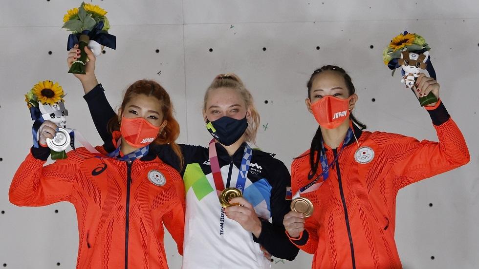 أولمبياد طوكيو.. ذهبية التسلق تطير إلى سلوفينيا