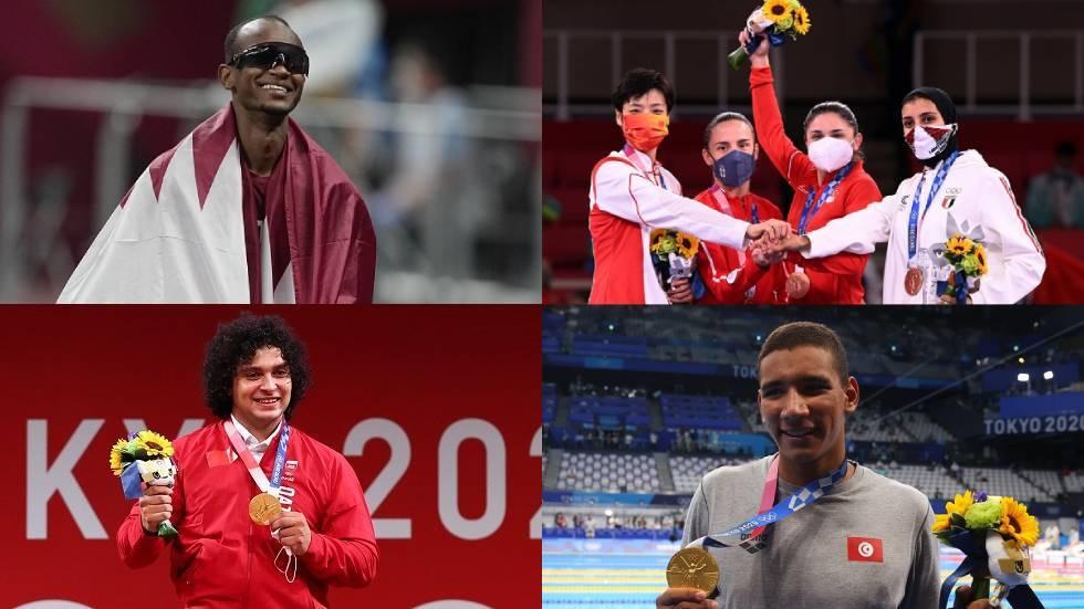 حصيلة ميداليات العرب بعد منافسات اليوم بأولمبياد 2020 .. فرحة مصرية