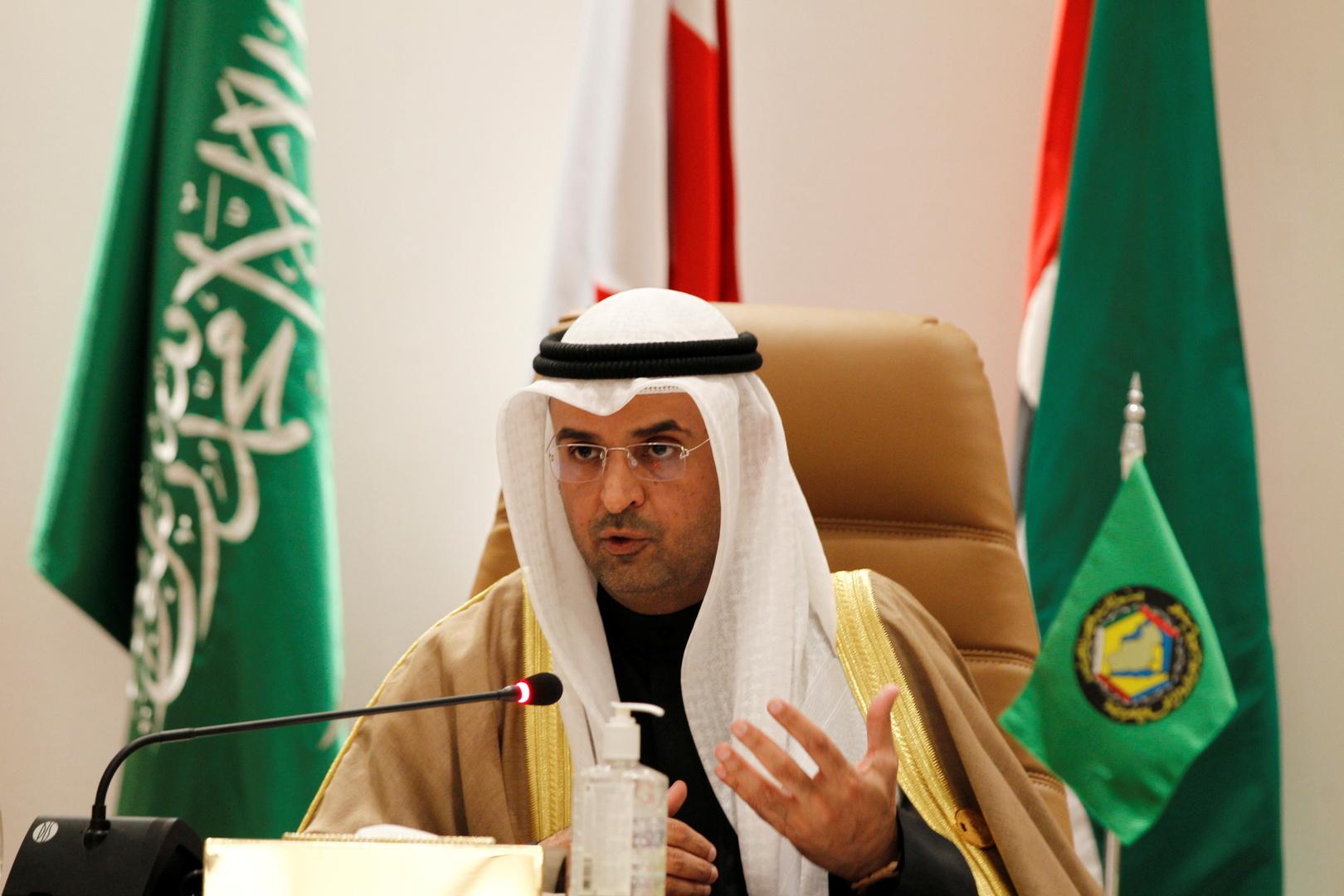 الأمين العام لمجلس التعاون لدول الخليج، نايف فلاح مبارك الحجرف