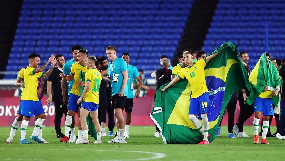 شاهد.. البرازيل تفوز بذهبية أولمبياد طوكيو لكرة القدم