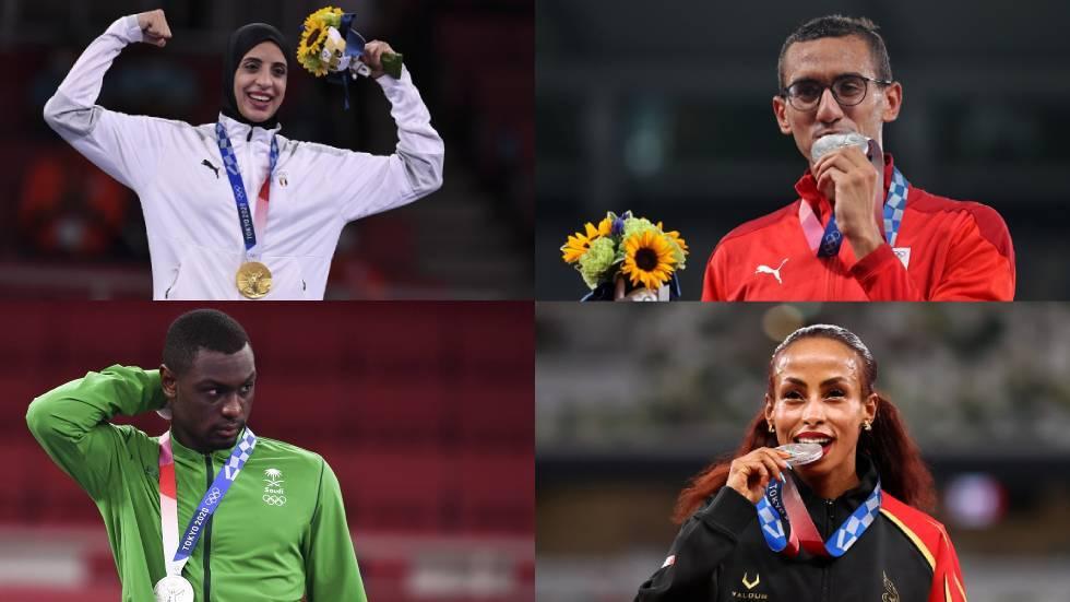 حصيلة العرب بعد منافسات اليوم بأولمبياد 2020.. ذهبية مصرية وفضية سعودية مطلية بالذهب