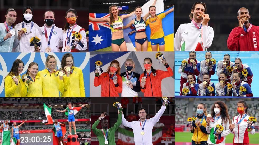 الترتيب النهائي لجدول ميداليات أولمبياد طوكيو 2020